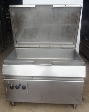Hobart  120 Litre Gas Bratt Pan with Auto Tilt