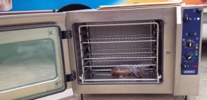 HOBART 6 grid Convection Oven with Steam Injection Single Phase