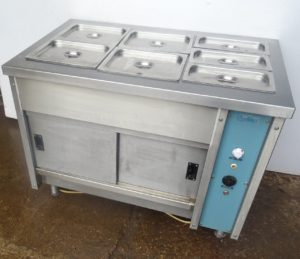 VICTOR Hot Cupboard With 3 Well Bain Marie
