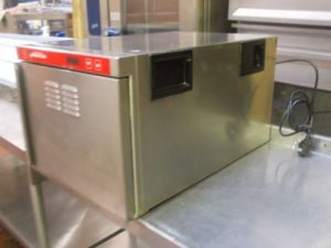 Hugentobler Hold-o-mat hot cupboard