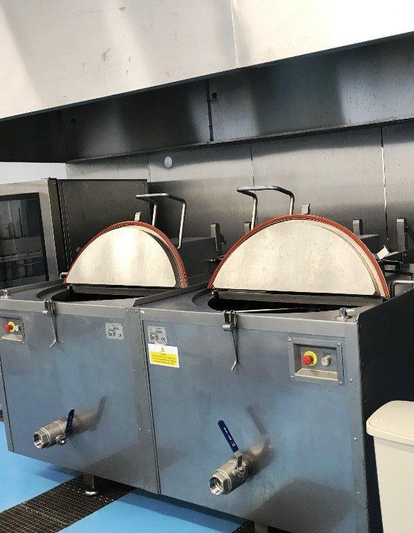 KARPOWICZ KKM600 600 Litre Boiling Kettle with Agitator Stirrer