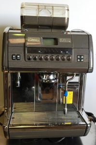 LA CIMBALI S39 'Barsystem' Semi Automatic Bean To Cup Coffee Brewer. 2 years old! CLEARANCE ITEM