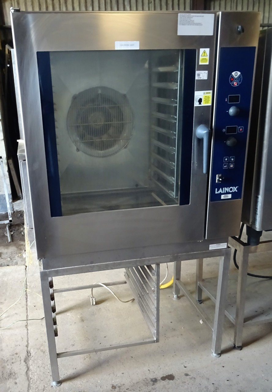 Lainox 10 Grid Gas Combi With Floor Stabnd Caterquip