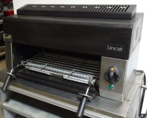 LINCAT Electric Salamander Grill with Branding Plate