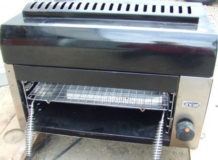 LINCAT Gas Salamander Grill with Branding Plate