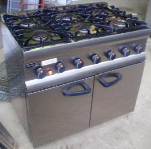 LINCAT Silverlink 6 Burner Gas Range with Oven