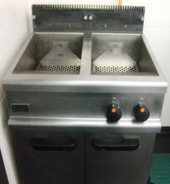 LINCAT Opus Twin Well Gas Fryer. Very Efficient!
