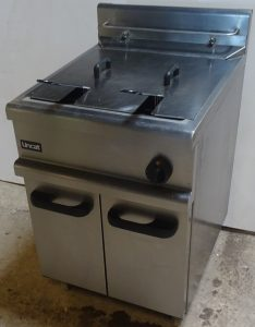 Lincat Single Well Twin Basket Gas Fryer