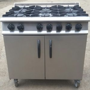 MOORWOOD VULCAN 6 Burner Gas Range with Oven. Current Model!