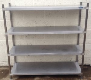 MOFFAT 4 Shelf Open Floor Standing Storage Unit