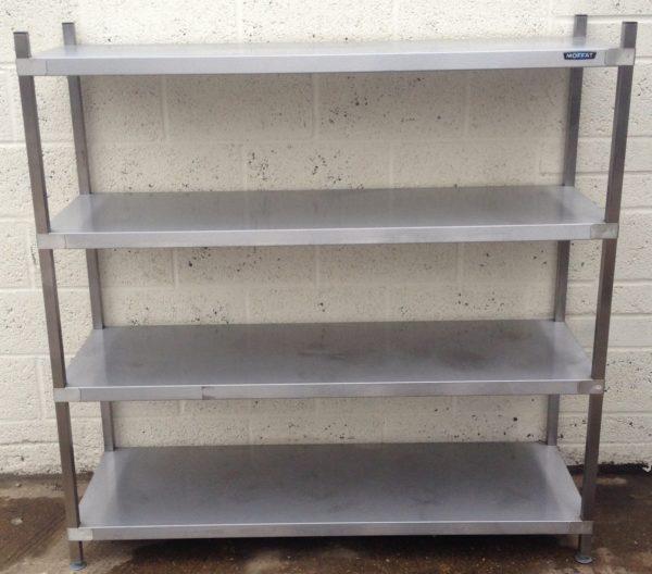 MOFFAT 4 Shelf Open Floor Standing Storage Unit 1