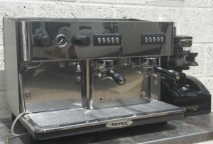 MONROC 2 Group Coffee Machine with Expobar Grinder