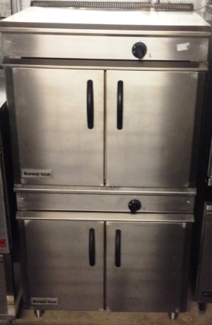 MOORWOOD VULCAN Twin Stacked Gas Utility Ovens – CLEARANCE ITEM