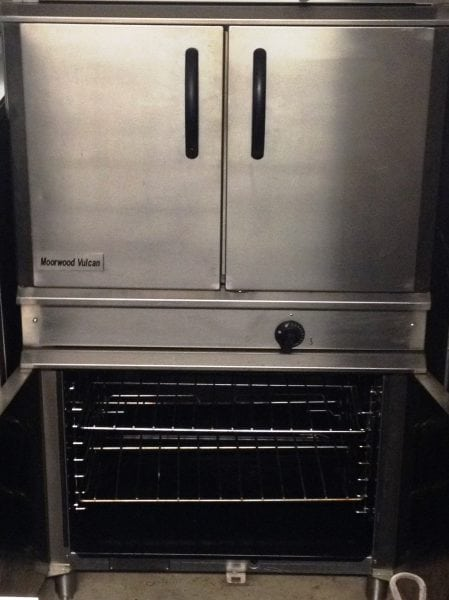 MOORWOOD VULCAN Twin Stacked Gas Utility Ovens