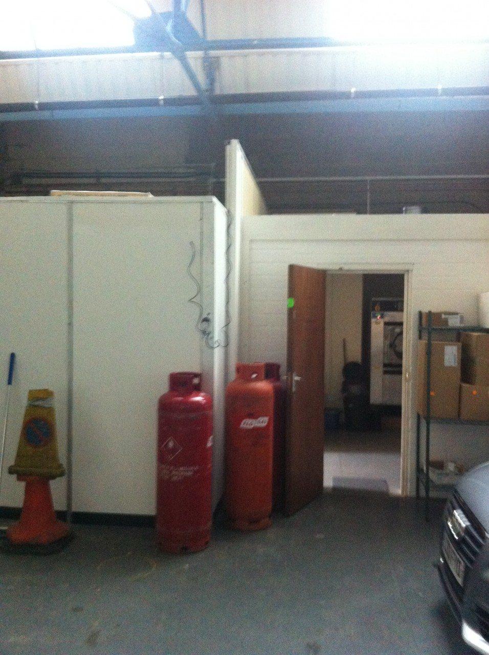 Royal Blue Production kitchen