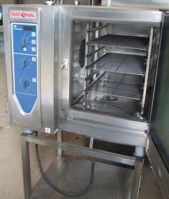 RATIONAL CD 6 Grid Electric Combi Oven with Stand