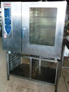 RATIONAL CM Electric 102 Grid Combi Oven with Gastronorm Stand