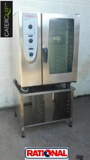 RATIONAL CM Electric 10 Grid Combi Oven with Stand