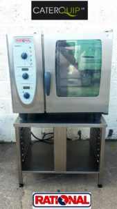 RATIONAL Combi Master Electric 6 Grid with Stand