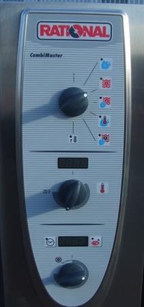 RATIONAL Combi Master Gas 40 Grid Combi Oven with Care Control