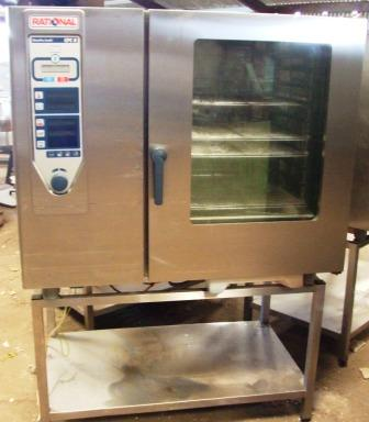 RATIONAL CPC 102 Gas Combi Oven with Stand 1