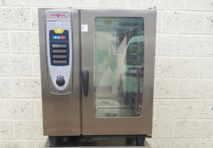 RATIONAL Self Cook Centre Electric 10 Grid  Combi Oven with Floor Stand