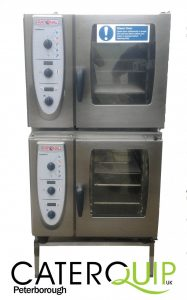 RATIONAL Stacked pair Combi Master Electric 6 Grid