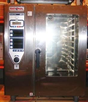 RATIONAL CPC Gas 10 Grid Combi Oven 1