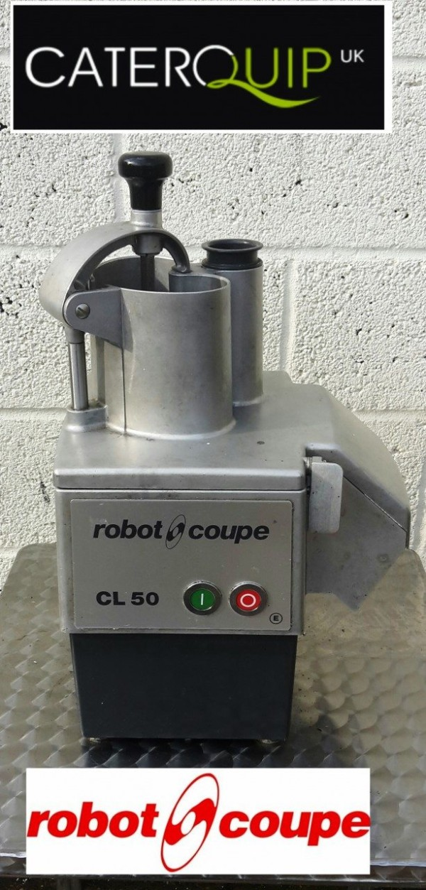 ROBOT COUPE CL50 Continuous Feed Vegetable Processor 1
