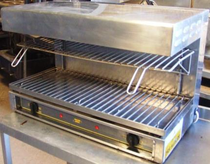 ROLLERGRILL Electric Salamander Grill