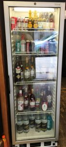 TEFCOLD Single Glass Door Drinks Display Fridge