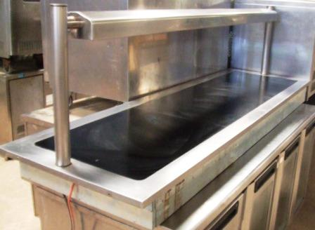 VICTOR Heated Drop In Servery