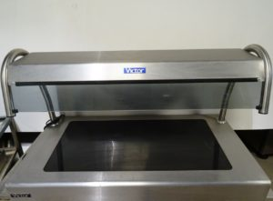 VICTOR Heated Glazed Ceramic Drop-In Servery