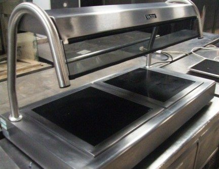VICTOR Table Top Heated Servery 1