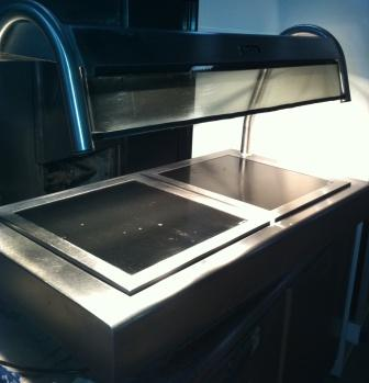 VICTOR Table Top Heated Servery