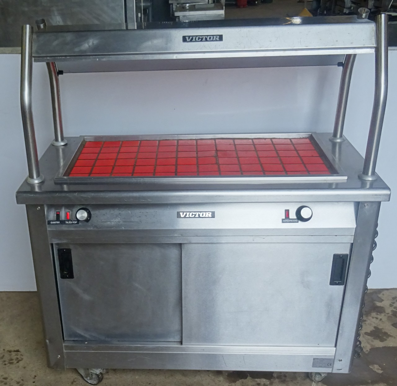 VICTOR Carvery Unit with Hot Cupboard - CaterQuip
