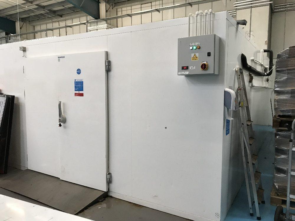 Walk In Freezer.  W540 x D690cm Showroom condition