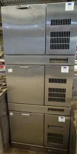 WEALD Bank of 3 Drawer Wine Bottle Chillers