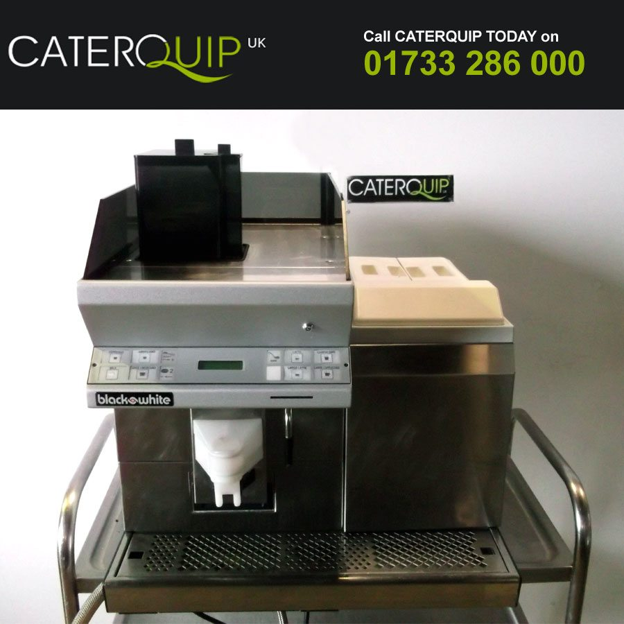 BLACK & WHITE Hi-Demand Bean to Cup Coffee Machine
