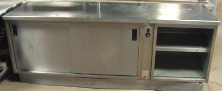 MOFFAT Hot Cupboard with Ambient Storage