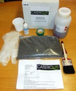 Regritting Kit for 28lb Peeler
