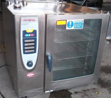 RATIONAL Self Cook Centre Gas 102 Combi Oven with Floor Stand
