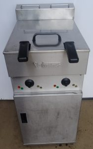 VALENTINE Twin Well 2 Basket Electric Fryer – STUNNING CONDITION!
