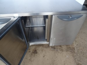 Williams Two Door Bench Fridge