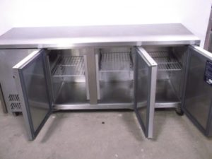 WILLIAMS 3 Door Bench Fridge