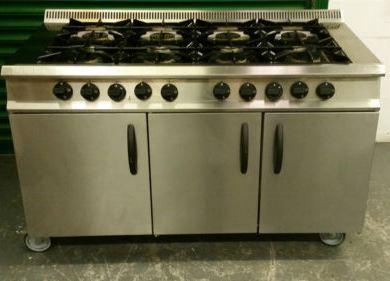 MOORWOOD VULCAN 8 Burner Gas Range with 2 Ovens