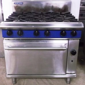 BLUE SEAL Evolution 6 Burner Range with Oven