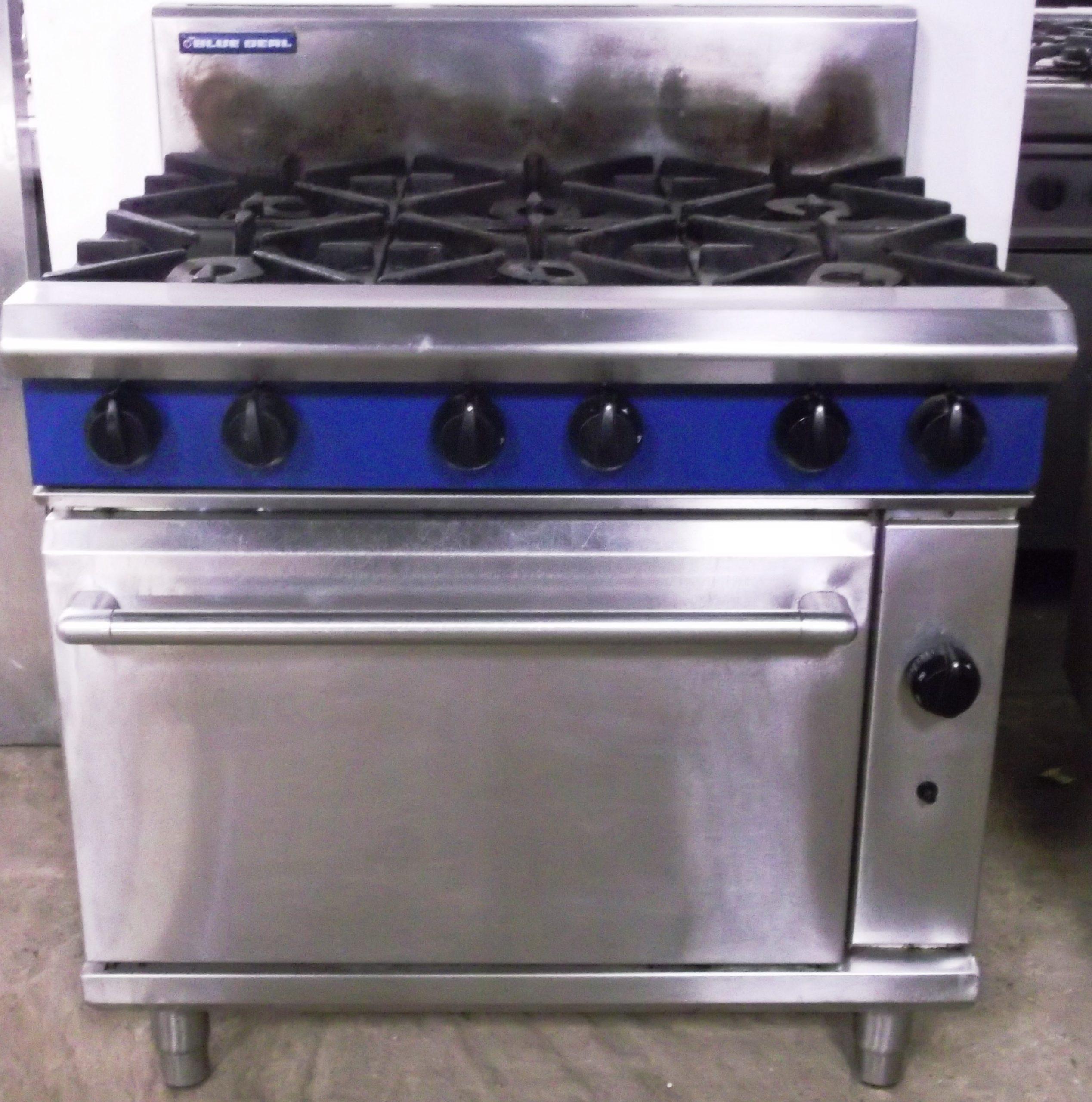 BLUE SEAL Evolution 6 Burner Range with Oven