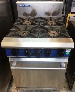 BLUE SEAL Evolution 4 Burner Gas Range