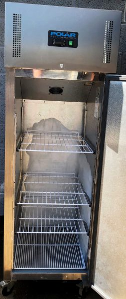 POLAR Single Door Upright 600 Litre Freezer
